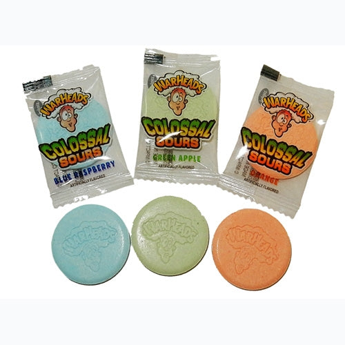 Warheads Colossal Sours