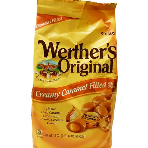 Werthers Original Creamy Caramel Filled Hard Candy 30oz bag