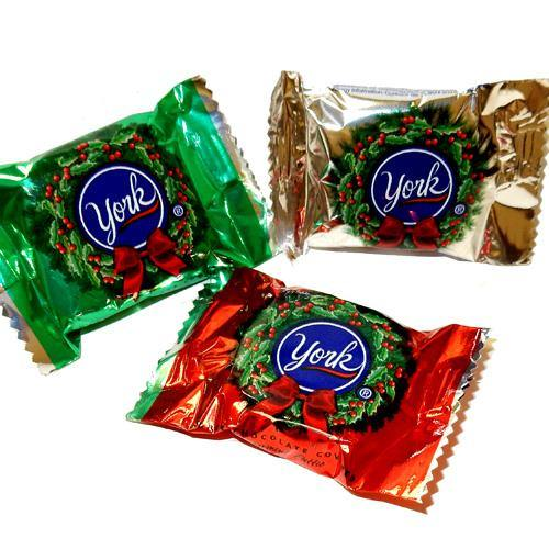 York Peppermint Patties for Christmas