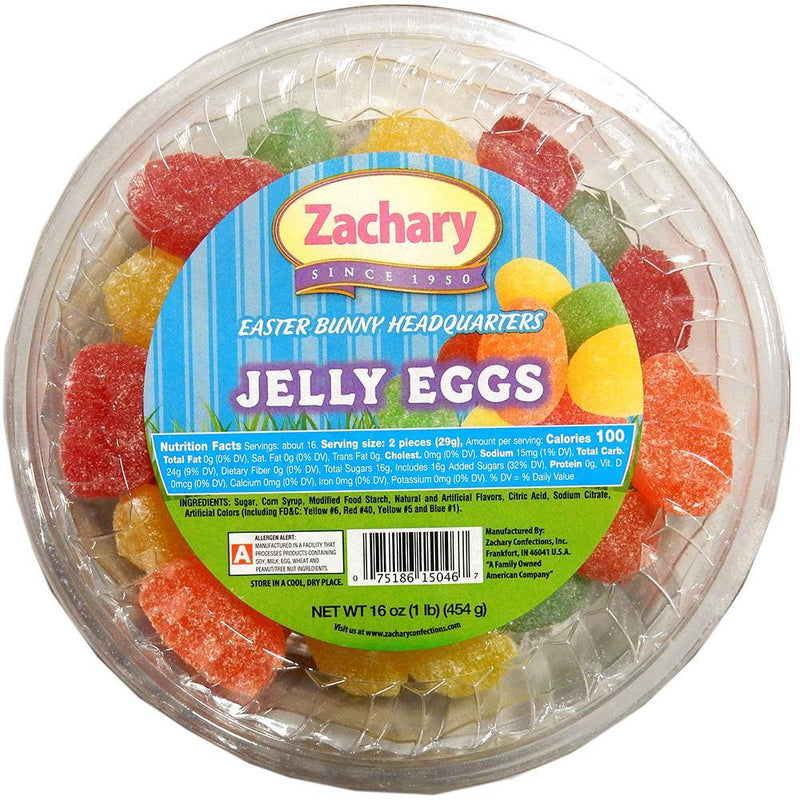 Jelly Eggs Easter Candy