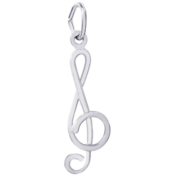 Treble Clef Charm by Rembrandt Charms™