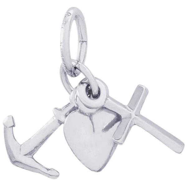 Faith, Hope and Charity Charm by Rembrandt Charms™