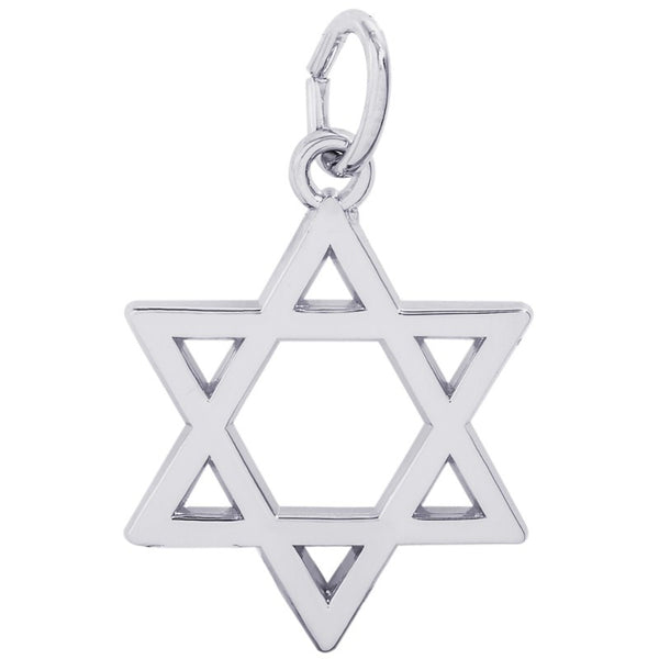 Star of David Charm by Rembrandt Charms™