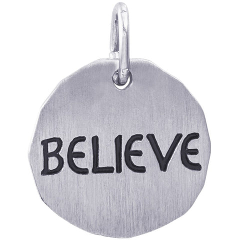 Believe Charm Tag™ by Rembrandt Charms™