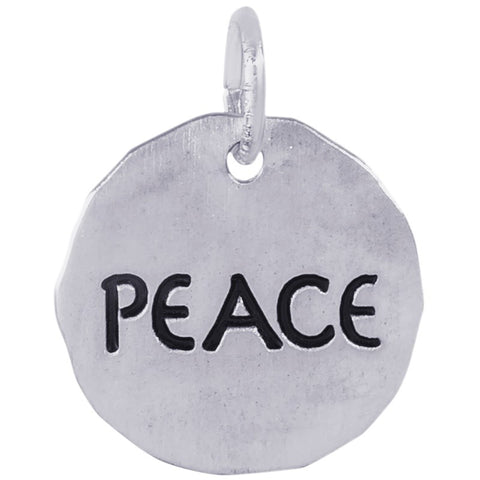 Peace Charm Tag™ by Rembrandt Charms™
