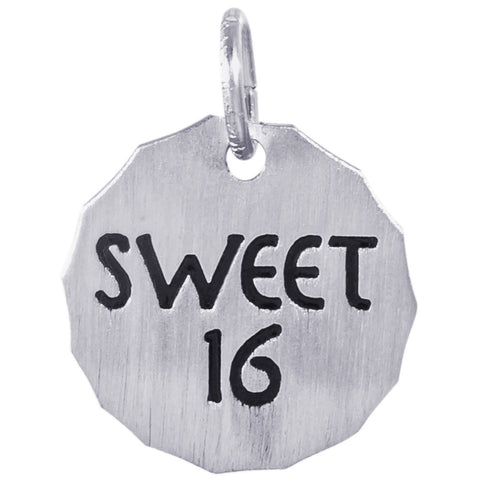 Sweet 16 Charm Tag™ by Rembrandt Charms™