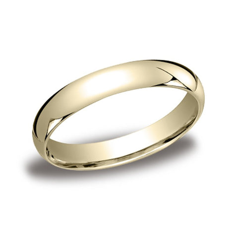 Traditional Domed Wedding Band - 4mm
