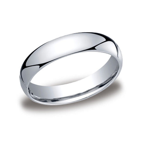 Traditional Domed Wedding Band - 5mm