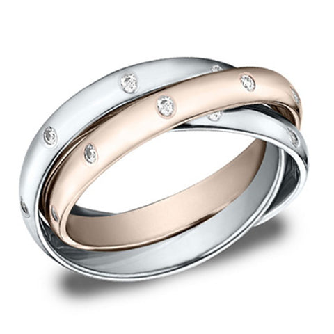 Twist Wedding Band