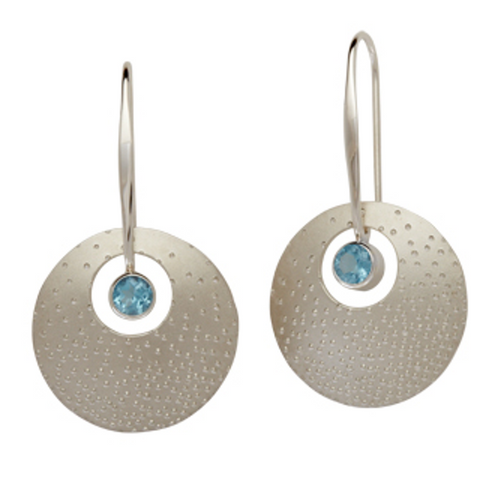 "Ed Levin ""Champagne"" Earrings"