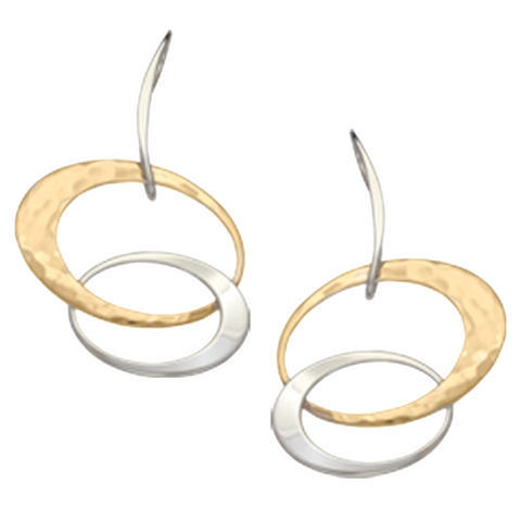 "Ed Levin ""Entwined Elegance"" Earrings"