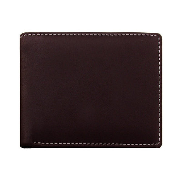 Stewart/Stand Men's Bi-Fold Brown Leather Wallet