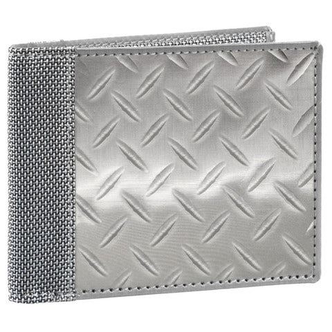 Stewart/Stand Men's Bi-Fold Diamond Plate Wallet