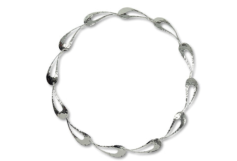 Ed Levin Sterling Silver Raindance necklace