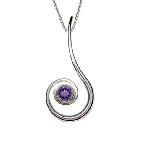 "Ed Levin ""Dancing Clef"" Necklace"
