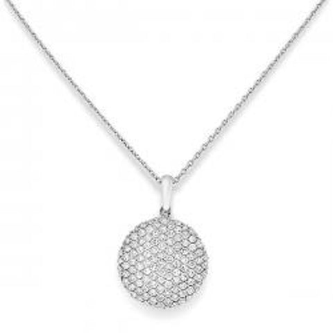Pave Diamond Disc