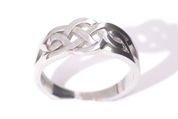 Silver Celtic Knot Ring