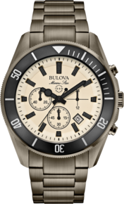 Marine Star Collection, Bulova Sport Watch - Stainless Steel Bracelet
