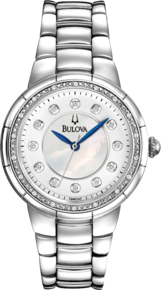 Rosedale Collection, The Bulova Diamond Collection, Stainless Case
