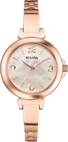 Dress Collection, Bulova Women's Watch - Rose Gold
