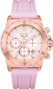 Marine Star Collection, Bulova Sport Watch - Lavender Rubber Band