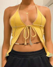 Load image into Gallery viewer, Oshun Love Overlocked Halter top