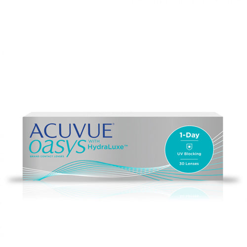 Acuvue Oasys 1- Day con Hydraluxe - EyeDome