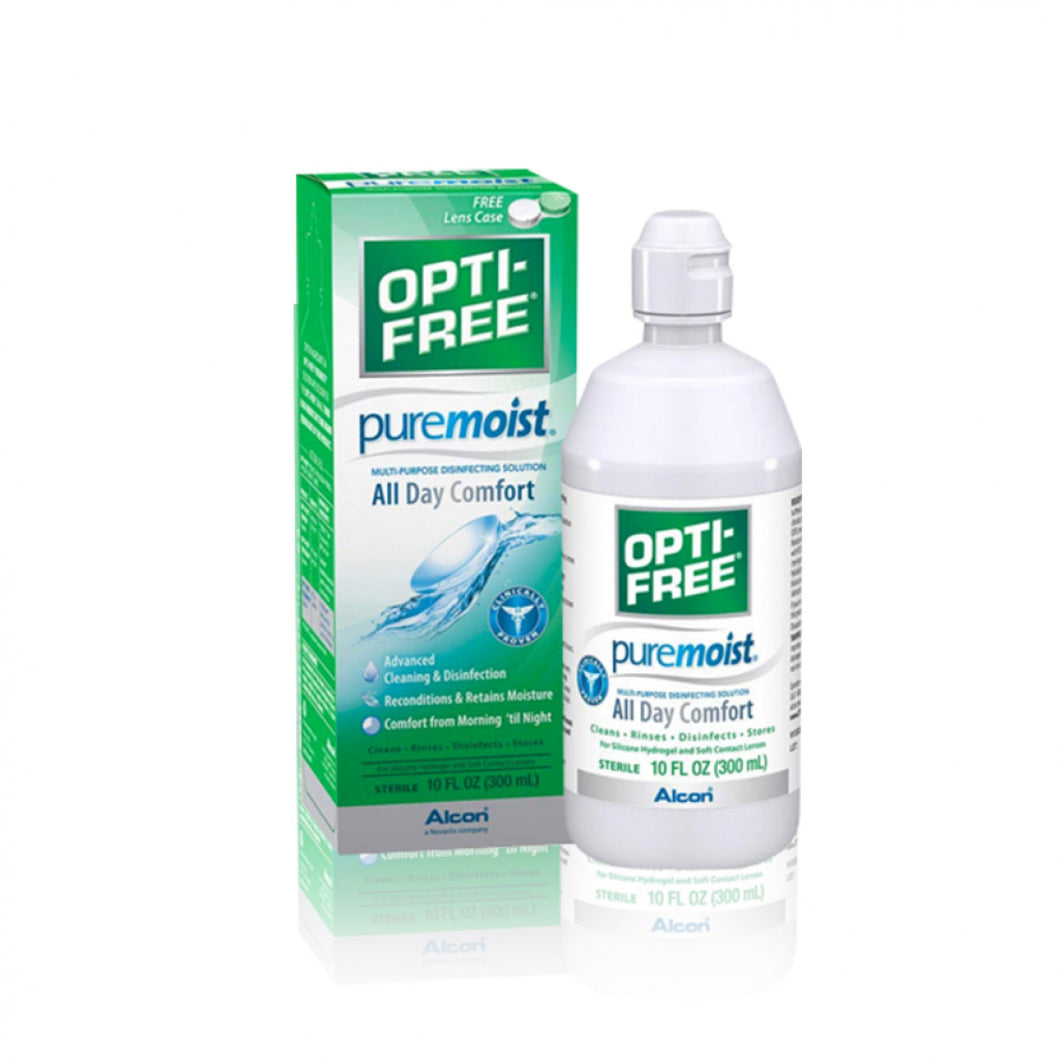 Opti-Free Pure Moist 120 ml - EyeDome