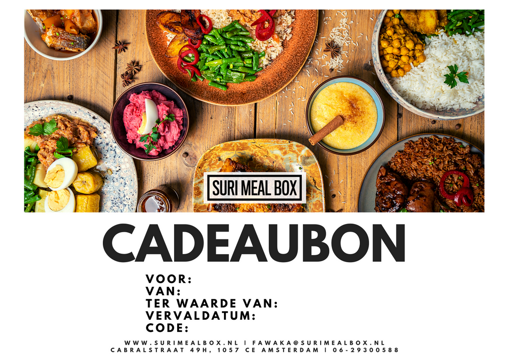 Load image into Gallery viewer, Cadeaubon Suri Meal Box €65