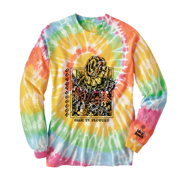 CHUBBYPUMPERS TIE DYE LONGSLEEVE + DOWNLOAD
