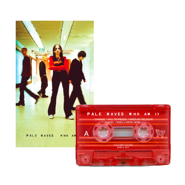 Who Am I? Limited Edition Red Cassette + signed art card