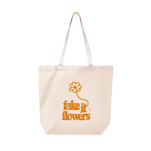 FAKE IT FLOWERS TOTE BAG + ALBUM DOWNLOAD