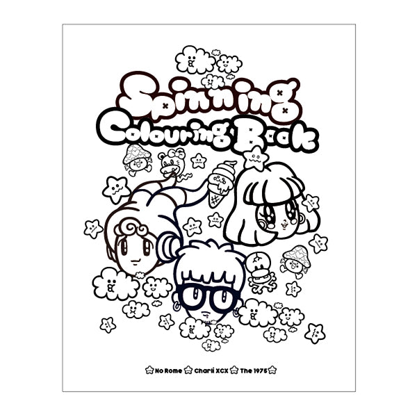 SPINNING COLOURING BOOK