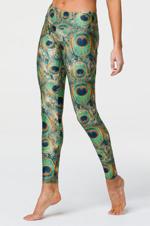 LONG LEGGING - PEACOCK GREEN