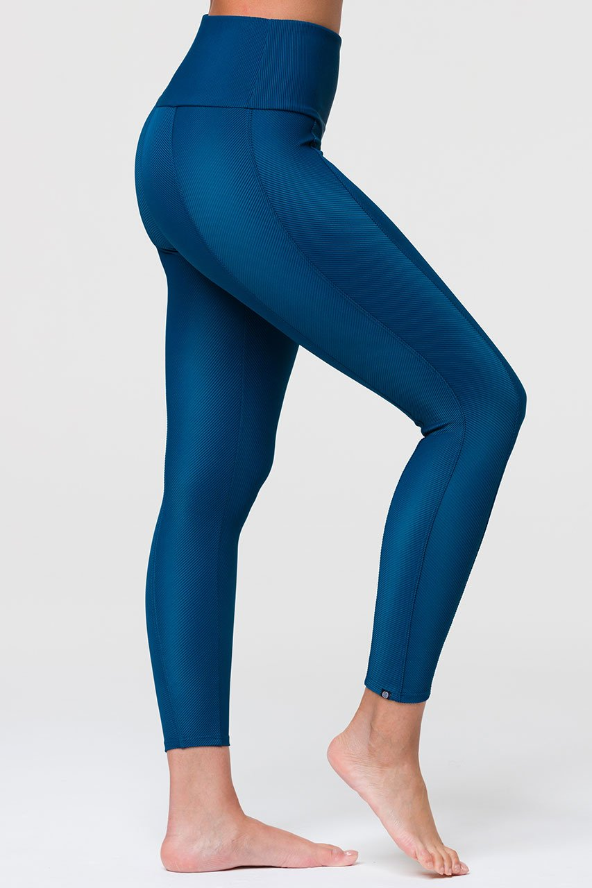 SWEETHEART MIDI LEGGING - EMPATHY RIB