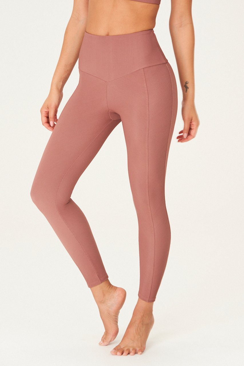 SWEETHEART LEGGING - TOAST RIB