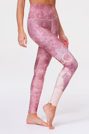 HIGH RISE GRAPHIC LEGGING - GODDESS