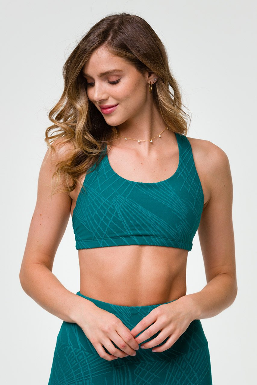 SELENITE MUDRA BRA - TEAL SELENITE