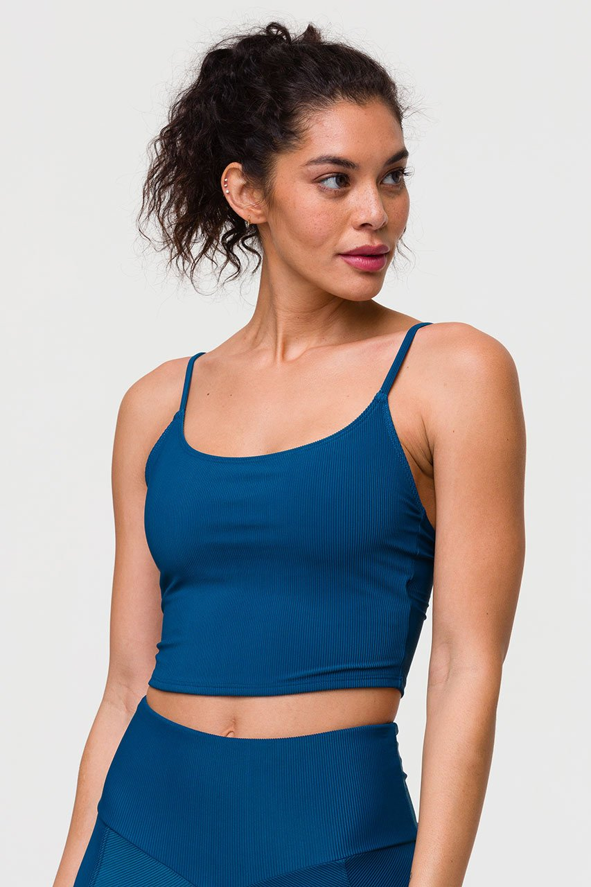 BELLE CAMI CROP TOP - EMPATHY RIB