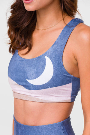SUSTAINABLE SOUL GRAPHIC MUDRA BRA - SOL Y LUNA