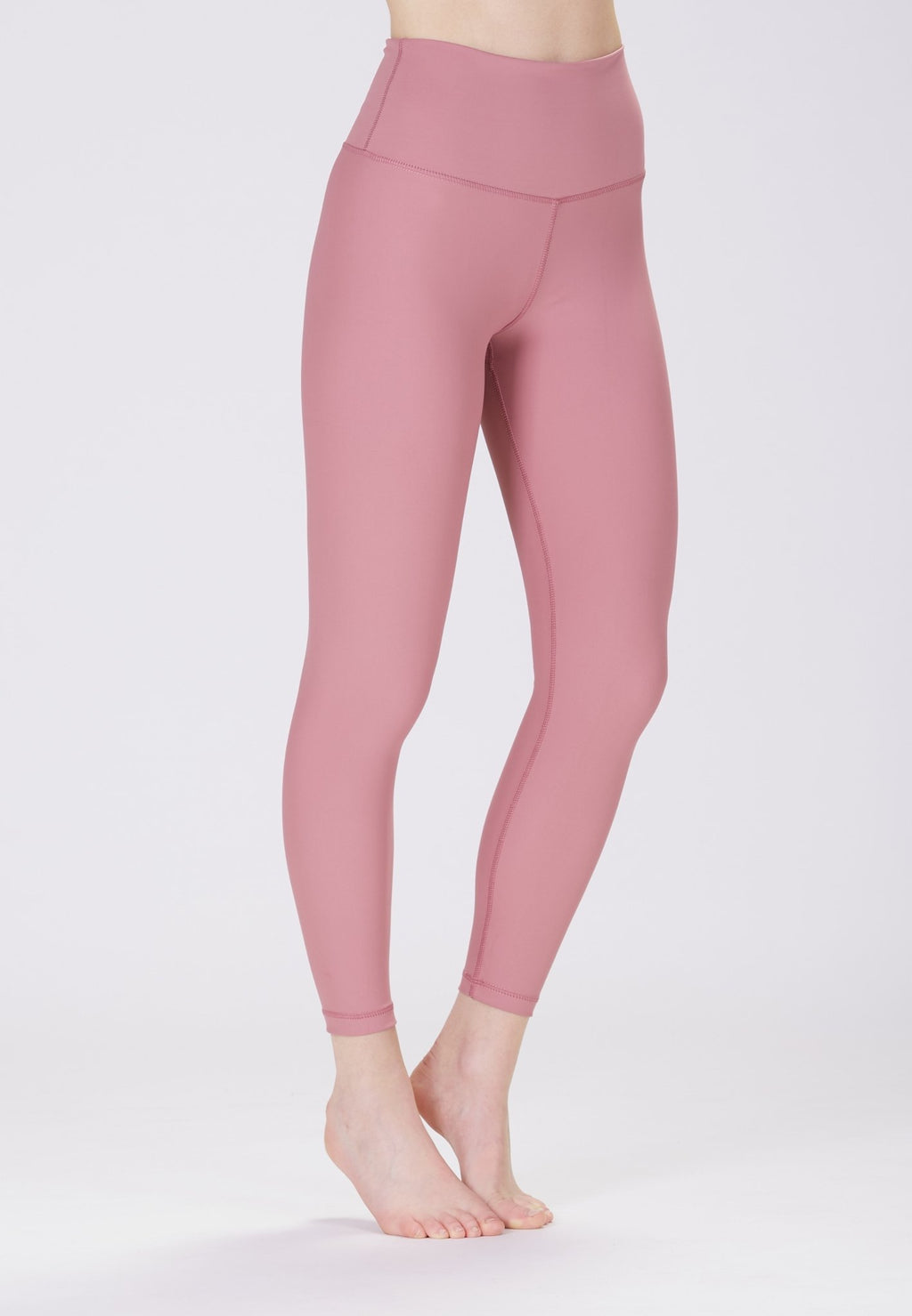 Classic High Waisted 7/8 Legging - Dusty Pink