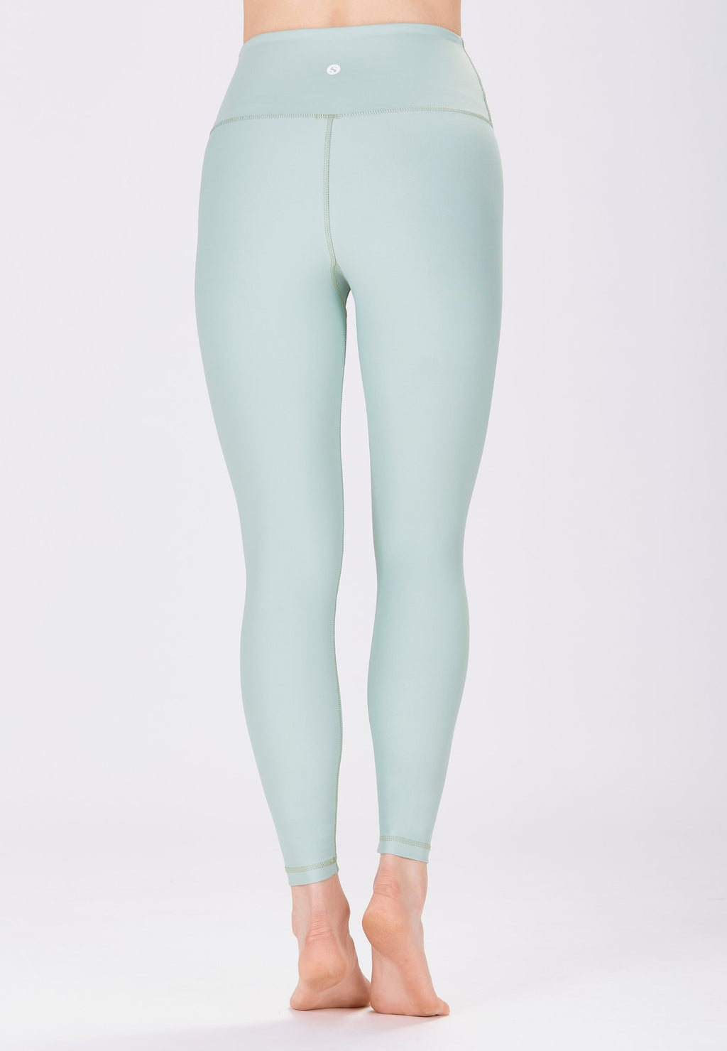 Classic High Waisted 7/8 Legging - Pistachio Green