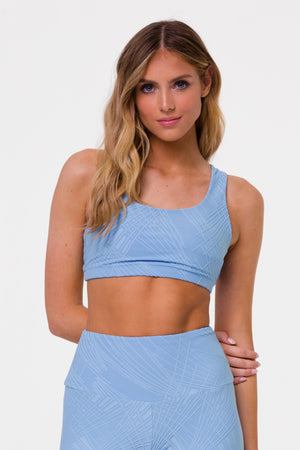 SELENITE MUDRA BRA - POWDER BLUE SELENITE