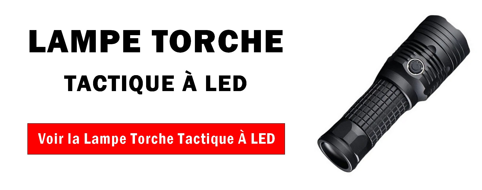 Lampe Torche Tactique à Led