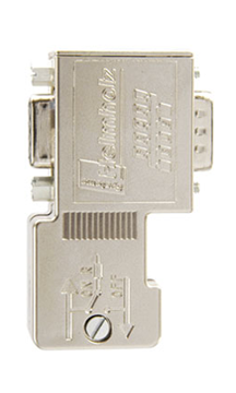 Profibus Connector 90° w/Piggy Back Port- 700-972-0BB12