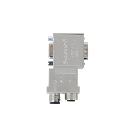 PROFIBUS connector, 90°, M12 Connection Type 700-974-0BB12