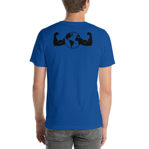 Short-Sleeve Double Logo Unisex T-Shirt