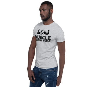 Oversized Logo Short-Sleeve Unisex T-Shirt