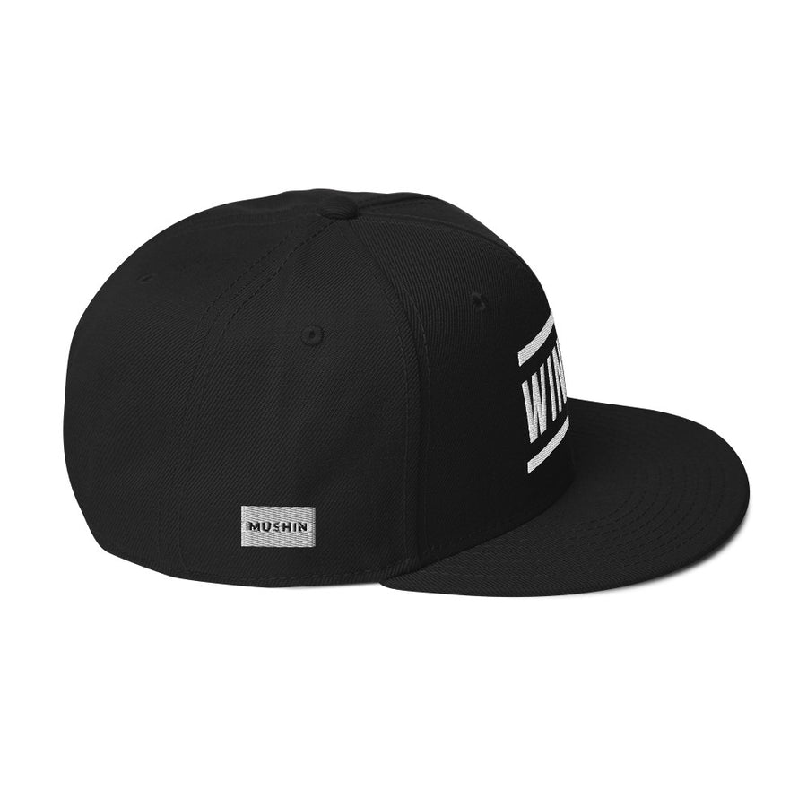 Mushin Winner Snapback Hat