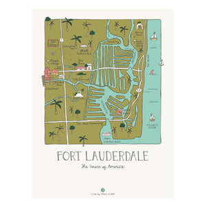 Ft Lauderdale Map